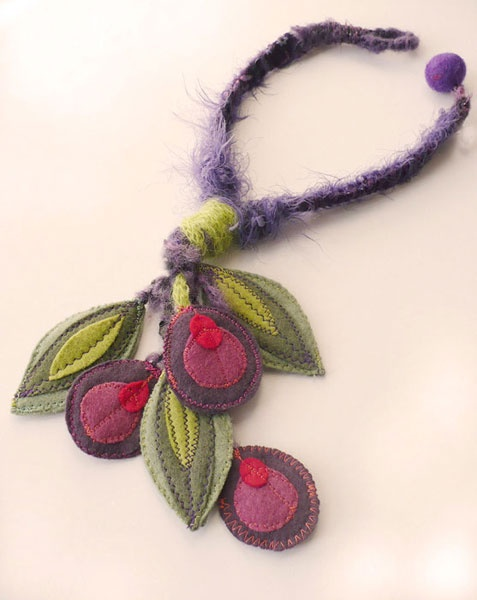 Necklace (maybe try something different with the leaves and flowers?)