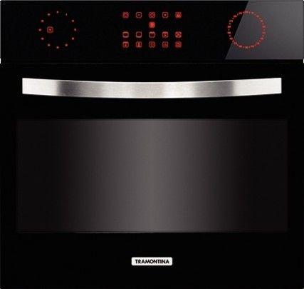 Tramontina posee hornos eléctricos con capacidad de 56L, función de bloqueo de panel para mayor seguridad, puerta con tres vidrios, timer electrónico con apagado automático y sistema de enfriamiento de la parte externa.