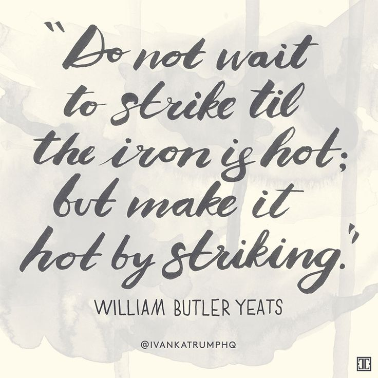 #WiseWords from William Butler Yeats