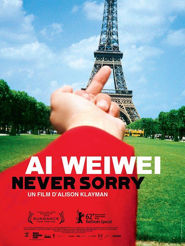 Ai WeiWei Never Sorry d'Alyson Klayman en salles le 5 décembre