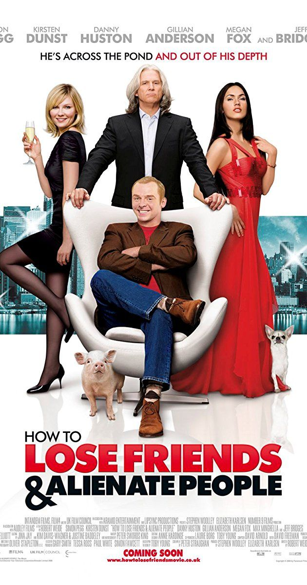 Directed by Robert B. Weide.  With Simon Pegg, Kirsten Dunst, Megan Fox, Kelan Pannell. A British writer struggles to fit in at a high-profile magazine in New York City.