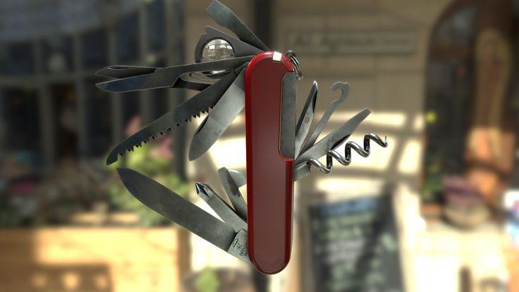 Victorinox knive by Halil Kantarci