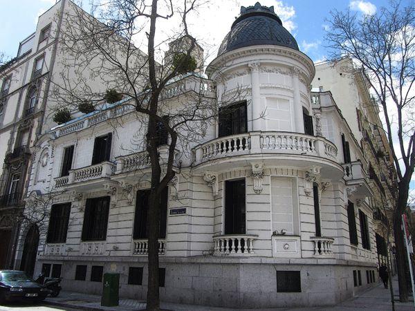 Palacio Duque De Tamames Palacios Madrid Ciudad Fotos Antiguas Madrid