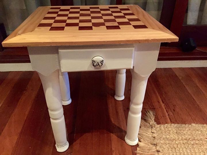 Chess table revamped