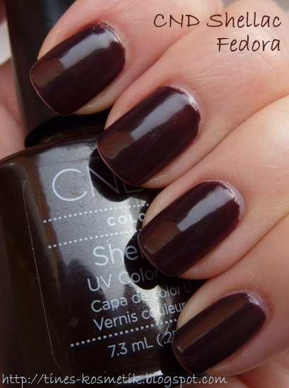 Tines Kosmetikblog: CND Shellac Fedora