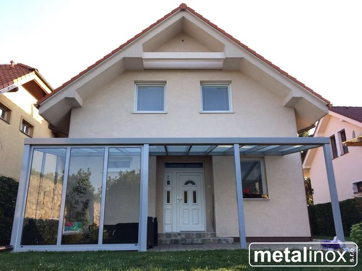 Alumi shelter house and glass with static glasswall. Carport/pergola/shelterhouse