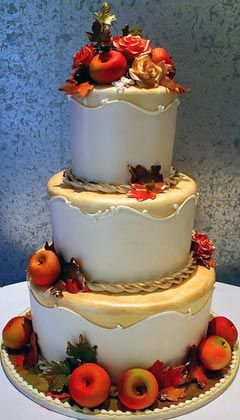 fall themed wedding cake ideas 35 best images about fall themed on 14152