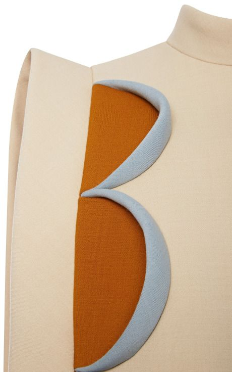 A-Line Mini Dress With Patchwork by DELPOZO for Preorder on Moda Operandi