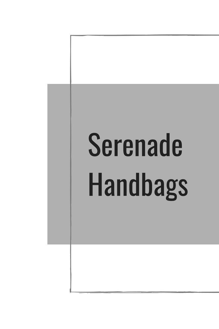 All the latest fashions from Serenade Handbags.