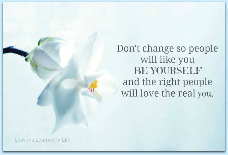 Facebook Be Yourself Quote
