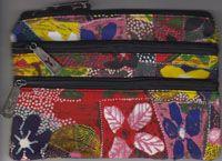 Yijan 3Z Cosmetic Bag Water Lillies Artist: Gordon Landsen Milyindirri Code: YI-COS-3Z-1 Price: $14.00 or 2 for $26.00