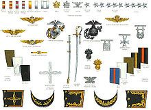 Uniforms of the United States Marine Corps - Officer uniform insignia