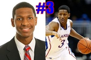 KU Player Quiz! Who is #3 for the Kansas Jayhawks 2013 basketball team?