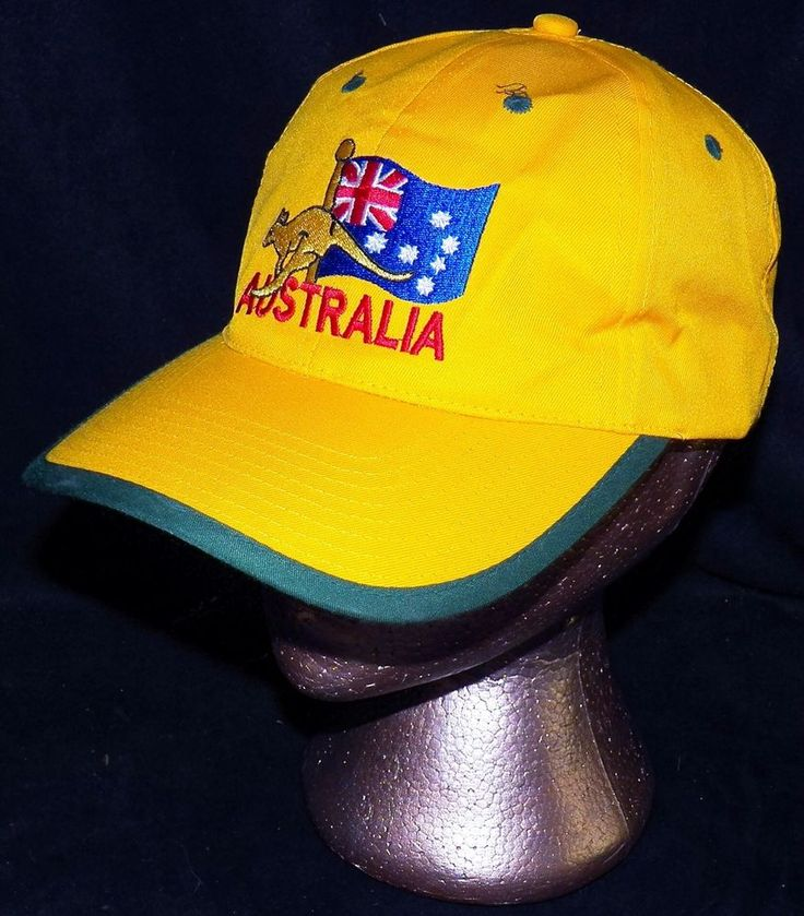 Made in Australia Southern Cross Flag Kangaroo National Colours Baseball Hat Cap #CreativeProducts #BaseballCap