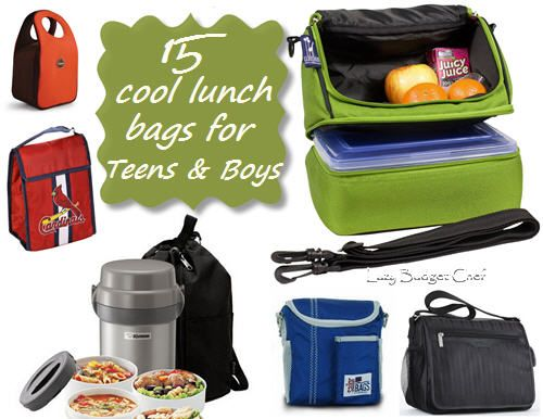 15 cool lunch bags, lunch boxes for boys, teens, and men
