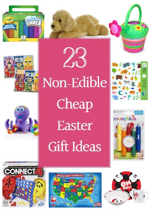 Best 25 cheap easter baskets ideas on pinterest 23 non edible cheap easter gifts negle Images