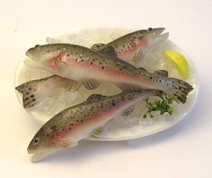 Learn To Sculpt a Rainbow Trout      From Polymer Clay