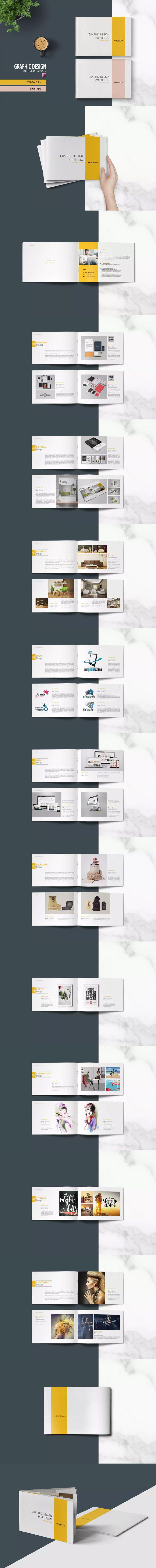 16 best Portfolio Brochure / Book Templates images on Pinterest ...