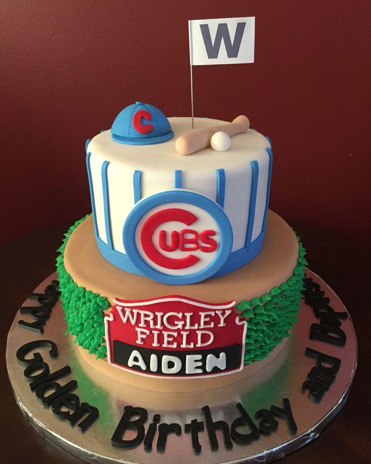 Chicago Cubs Cake, Baseball