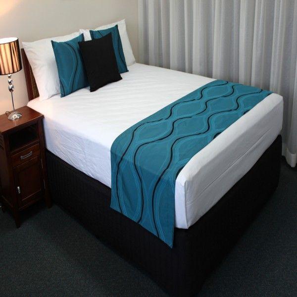 20 best bedding bed runners bed scarves images on pinterest bed runner 3 4 beds and rugs. Black Bedroom Furniture Sets. Home Design Ideas