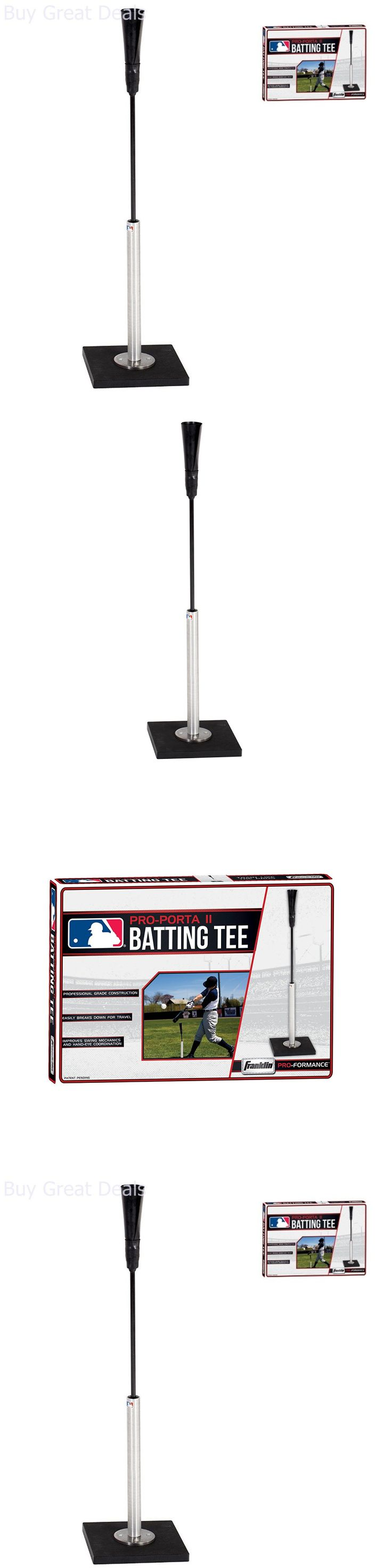 Batting Tees 108139: Baseball Batting Tee Portable Tee 37In Baseball Hitting Practice Training Aids -> BUY IT NOW ONLY: $66.37 on eBay!