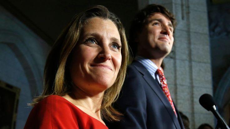 Chrystia Freeland takes over Foreign Affairs as Trudeau shuffles cabinet - Politics - CBC News
