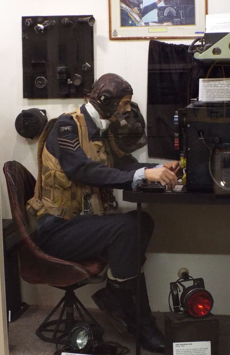 Sergeant Wireless Operator Yorkshire Air Museum Elvington