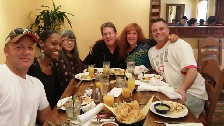 Brunch at El Torito, 2015. Brian, Shani, me, Chris, Carrie, Tim