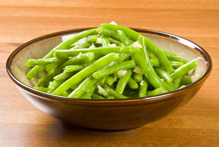 Recipe with fresh green beans, olive oil, dry Italian salad dressing mix, low-fat parmesan cheese
