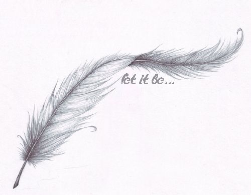 It'd be nice to get a feather like the one from Forrest Gump with a quote from the movie.