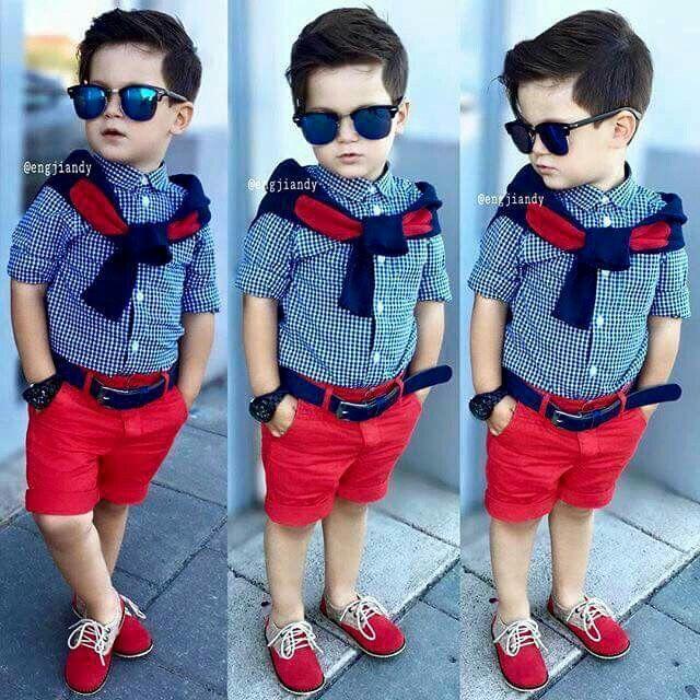 He is so ooo cute n stylish