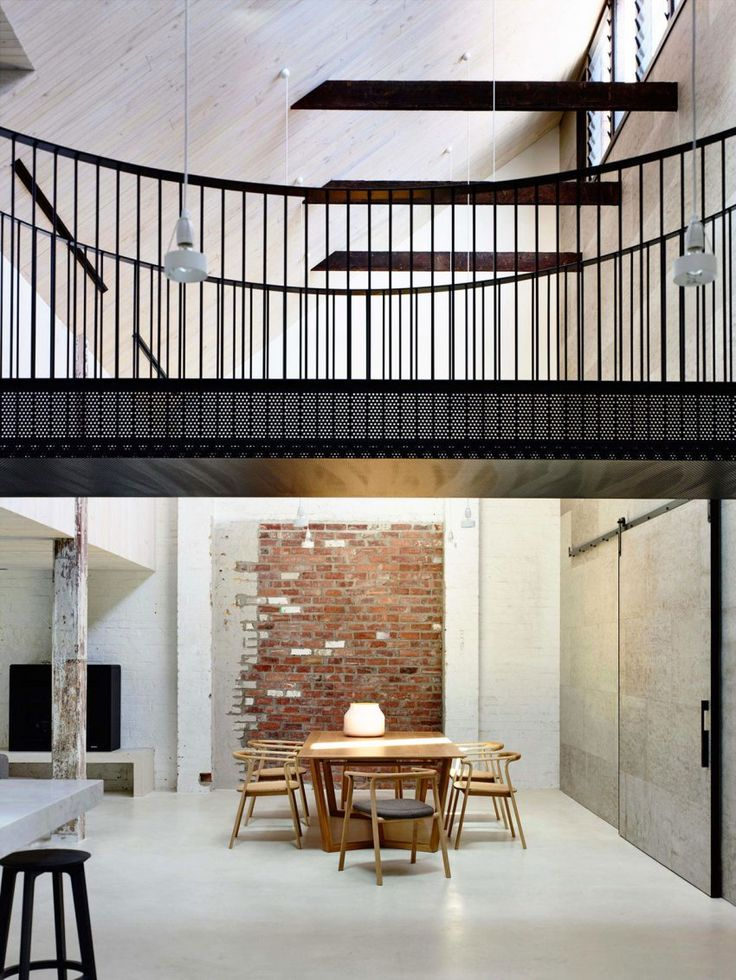 Architects EAT Turns A Former Industrial Building Into A Private Residence  In Fitzroy