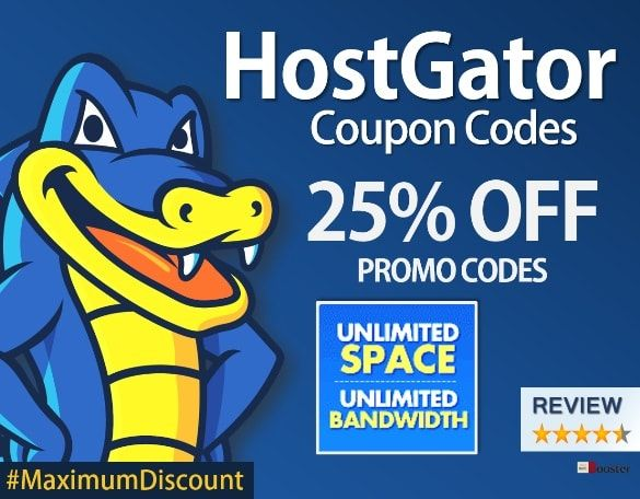 Get a great deal on web hosting and domain names with these 100% valid coupons from HostGator! Enjoy exclusive savings on popular web hosting plans. Get Cloud at price of Shared Hosting. 2x Faster & 4x Scalable. Get your Business on Cloud. Launch Offer - Get 30% off on Cloud Hosting. Coupon Code. Save up to 60% on all new hosting plans from Hostgator by using almost free hosting discount coupons. Valid on shared hosting, cloud hosting, reseller hosting, VPS hosting and dedicated servers…