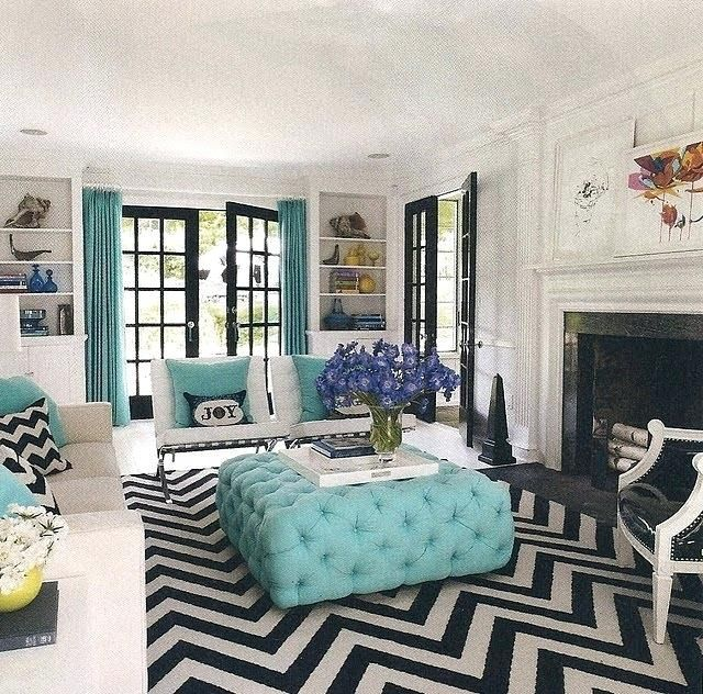 Living Room Tiffany Blue Living Room Designs On Kitchen Classy Home Decor Also Blue C In 2020 Blue Living Room Blue Living Room Decor Black And White Living Room