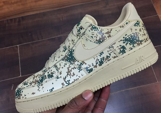Nike Air Force 1 Low Camo Prints Closer Look With Images