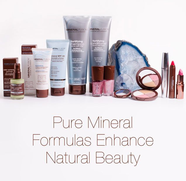 Mineral Fusion is a company that stands for quality mineral makeup & skin care, quality ingredients, and quality of life.