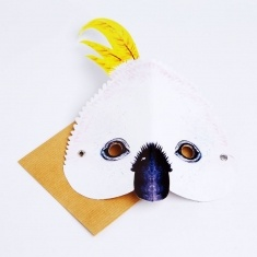 cockatoo mask