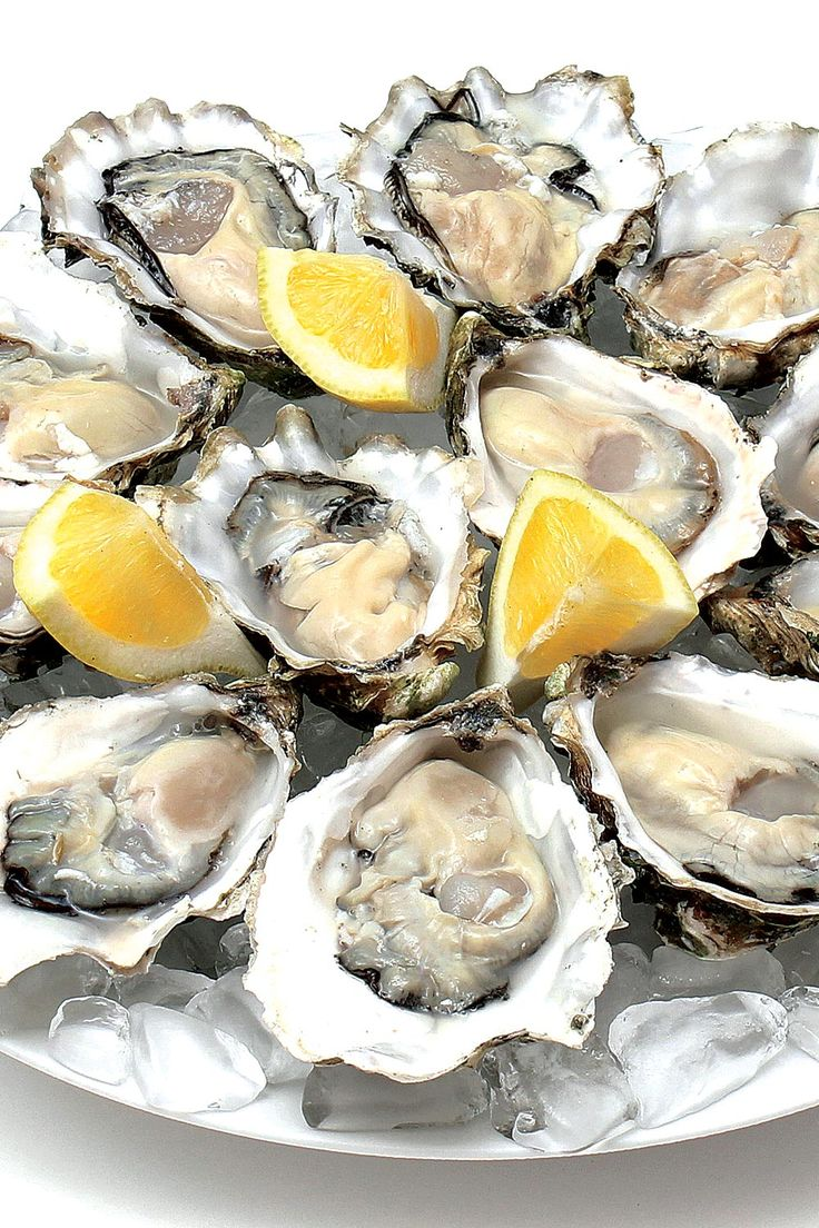 Gently Poached Oysters
