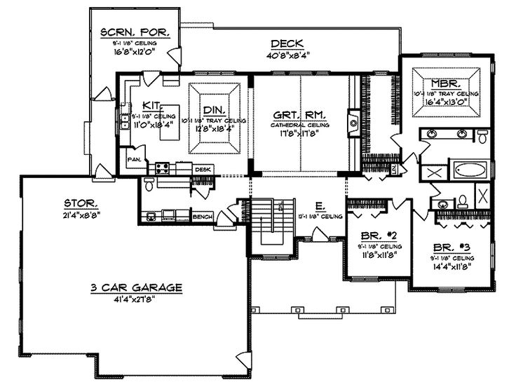 Best 25 Rambler House Plans Ideas On Pinterest 4