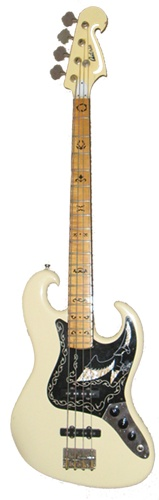 Antoria White Eagle Bass - version of the Black Eagle bass used by Nirvana