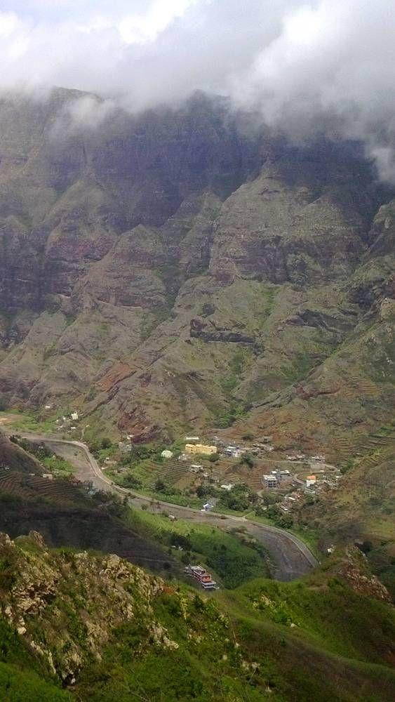 Trek au coeur des montagnes Cape VerdeRainy