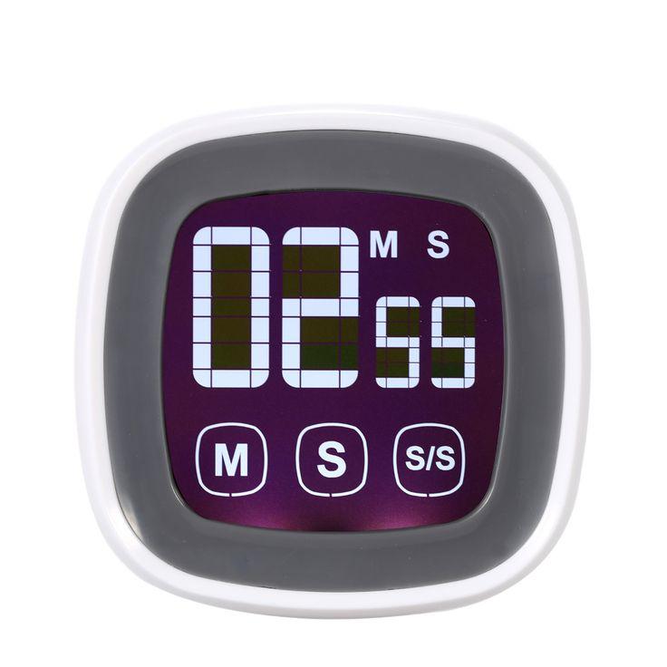 ЖК-Цифровой сенсорный экран кухонный таймер