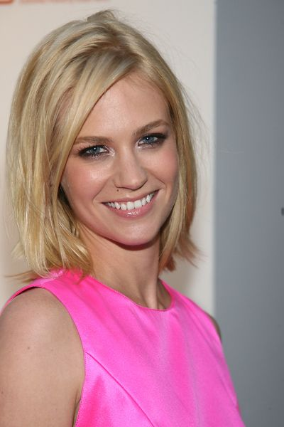 january jones hair - Google Search.  Best hair cut for anyone with Shoulder length/just to shoulder hair..thick or thin.