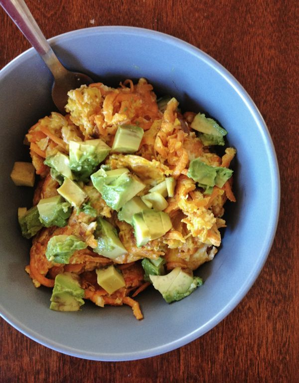 Post WOD Scramble | Our Paleo Life ... Good meal for after a CrossFit workout