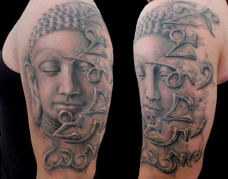 Tetování budha mantra