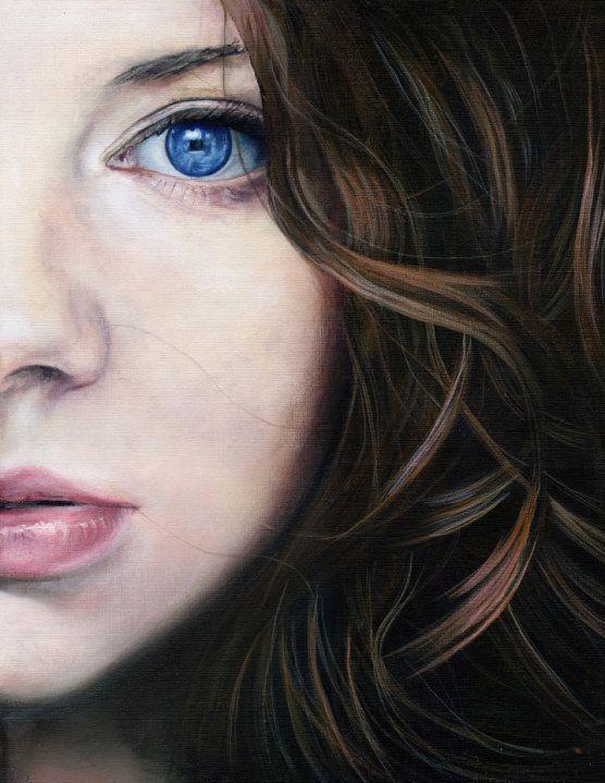 "Saatchi Online Artist: Martin Lynch-Smith; Acrylic, 2010, Painting ""Mina"""