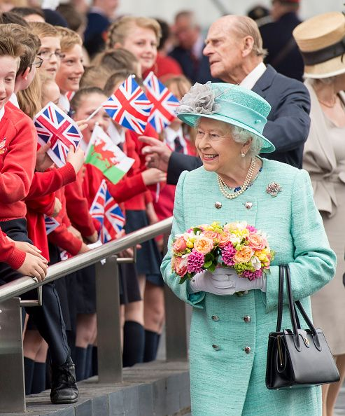 Royal Family Around the World: The Queen, Duke of Edinburgh, The Prince of Wales and Duchess of Cornwall Visit Cardiff, Wales at The Senedd on June 7, 2016
