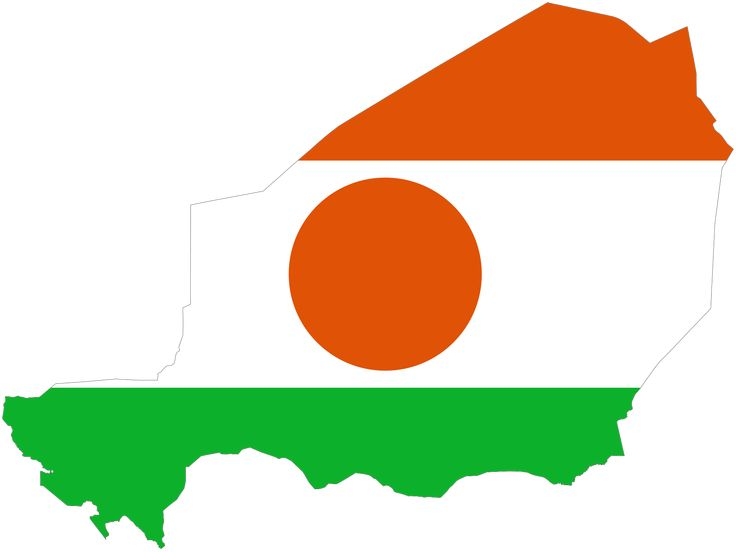 Niger Flag Map - Mapsof.net