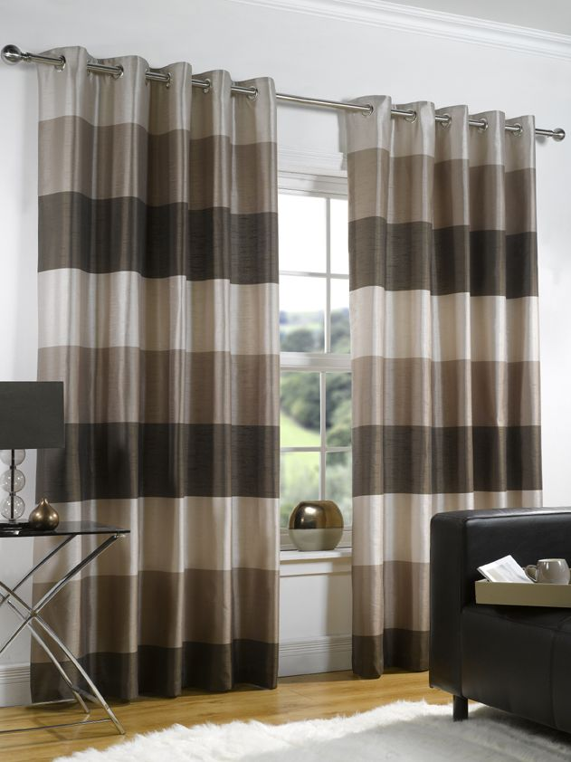 Riviera   Chocolate Ready Made Curtains (50% OFF!) From £23.64 [ Part 13