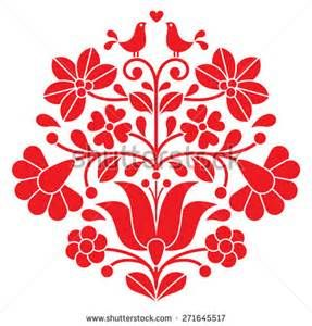 Scandinavian Folk Art Flowers - Bing Images